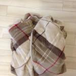 グルーニーの着る毛布を着てみた!暖房いらずで暖かいわ!